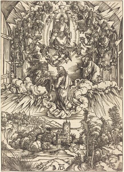 Saint John before God and the Elders