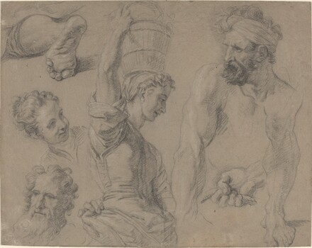 Study for Miraculous Draught of Fishes (?)