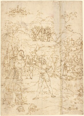 The Martyrdom of Saint Alexander of Bergamo