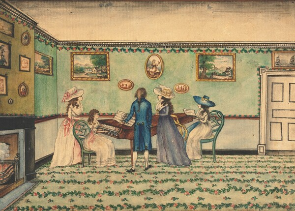 Harpsichord Recital at Count Rumford's, Concord, New Hampshire