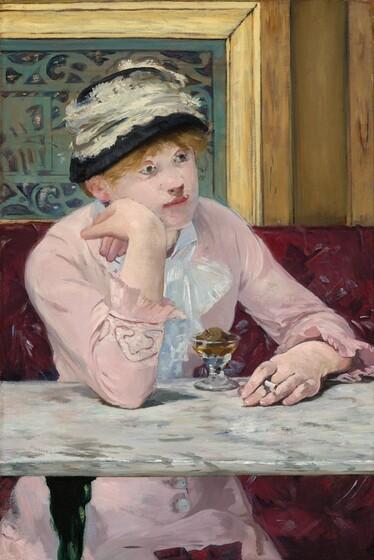 Edouard Manet, Plum Brandy, c. 1877