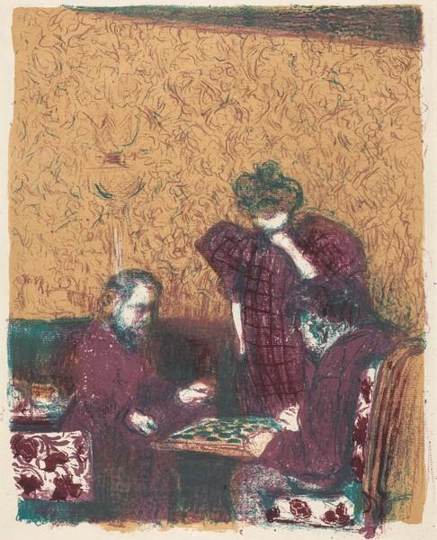 Game of Checkers (La partie de dames)