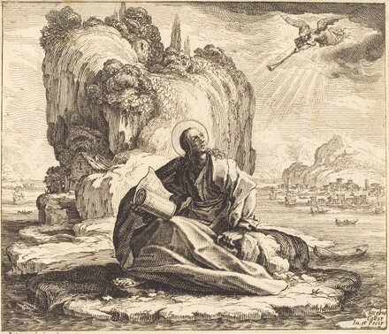 Saint John on the Isle of Patmos