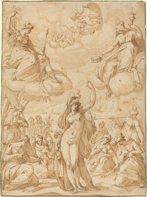 Allegory of Minerva as the Head of the Muses
