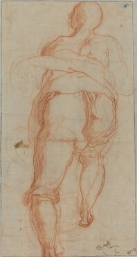 A Man Seen from Behind [verso]
