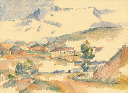 Montagne Sainte-Victoire, from near Gardanne