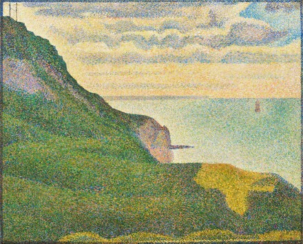 Seascape at Port-en-Bessin, Normandy