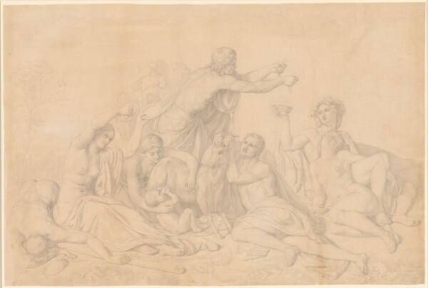 The Nursing of Jupiter