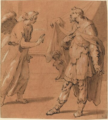 The Angel Appearing to the Centurion Cornelius
