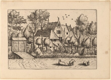 Country House with a Ditch