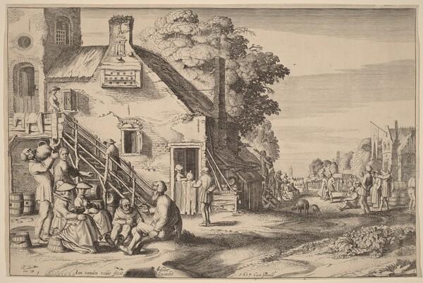 Spring (Village Fair before an Inn)