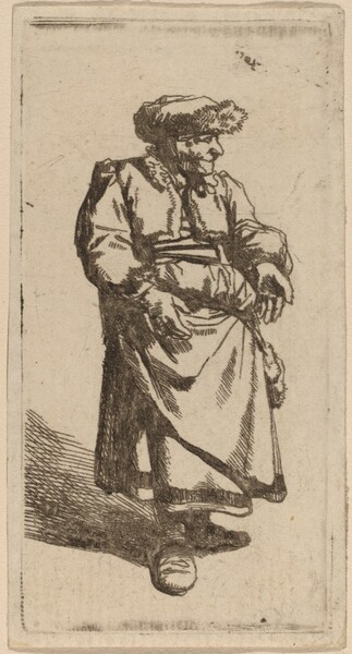Old Woman Standing