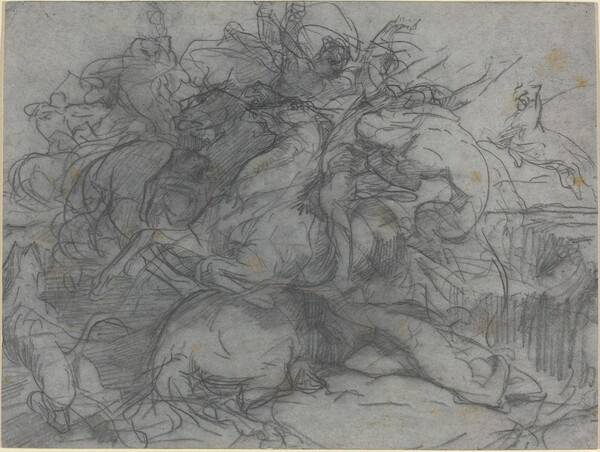 Study for Surprise (Battle of the Tigers)