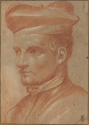 Portrait of an Ecclesiastic Wearing a Biretta