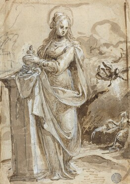 Mary Magdalene [verso]