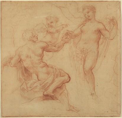 Paris Awarding the Apple to Venus