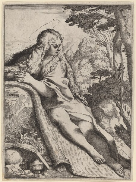 Mary Magdalene in the Wilderness
