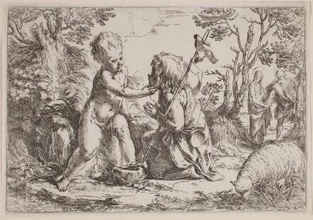 The Infant Jesus and Saint John