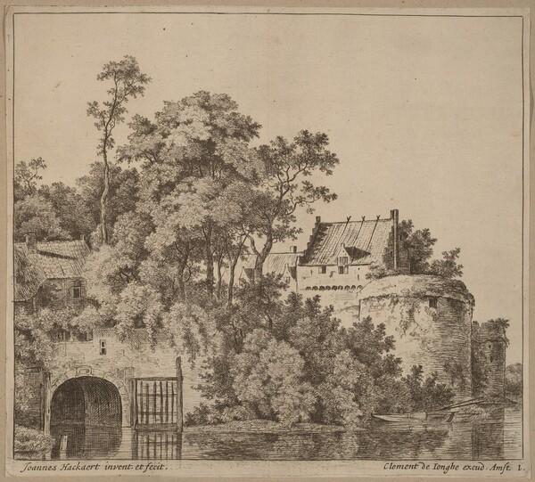 Small Town (Town Gate at Gorkum?)