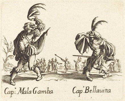Cap. Mala Gamba and Cap. Bellavita