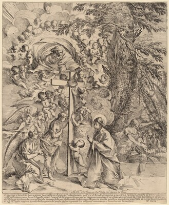The Infant Christ Embracing the Cross (The Dream of Joseph)