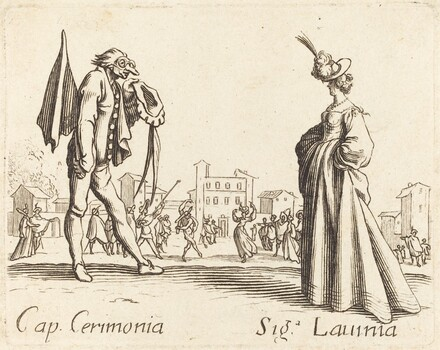 Cap. Cerimonia and Siga. Lavinia