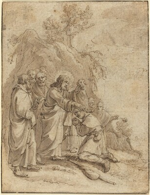 Christ Healing the Leper