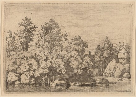 The Cudgel Dam and Covered Bridge