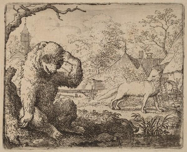 Reynard Mocks the Woeful Bear