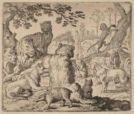 The Lion Orders a Mass Assault on Reynard