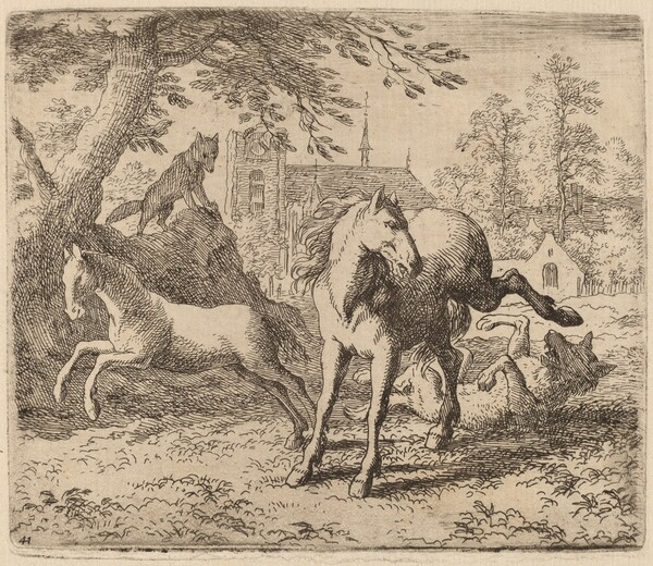 The Mare and the Wolf
