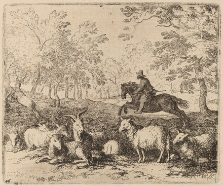 The Horse Forced to Pursue the Stag
