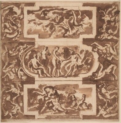 Modello for a Ceiling: Diana and the Dead Endymion, the Judgment of Paris, and the Death of Adonis