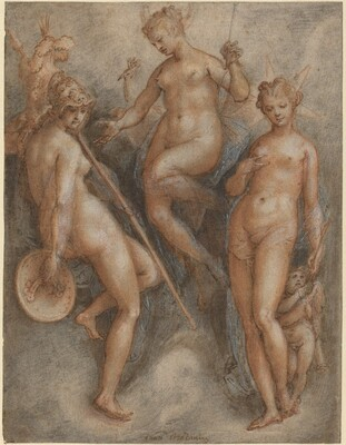 Three Goddesses: Minerva, Juno and Venus
