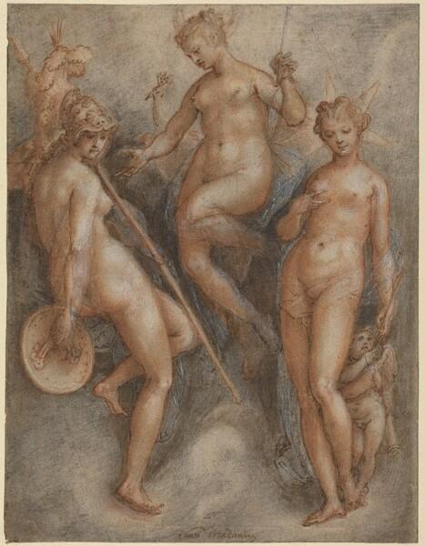 Three Goddesses: Minerva, Juno and Venus