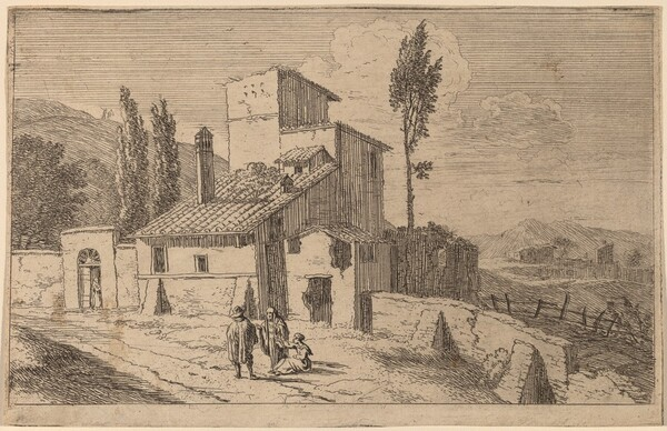 View of a Convent