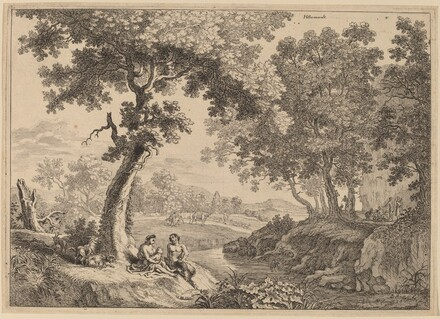 Satyr Family Seated under a Tree