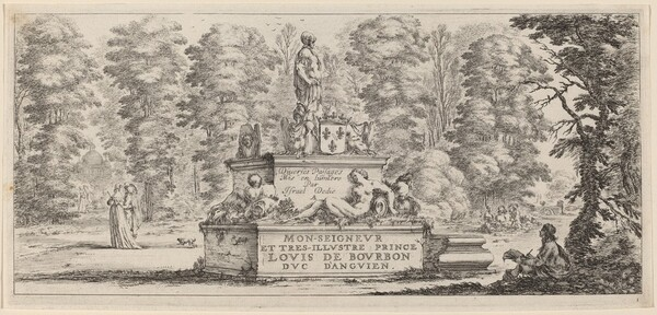 Title Page for Divers paysages