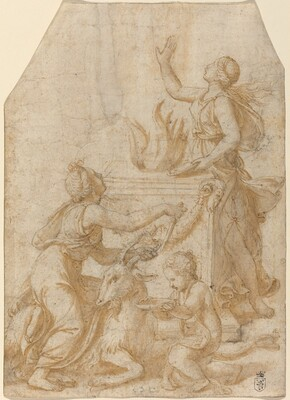 The Sacrifice of a Goat to Jupiter