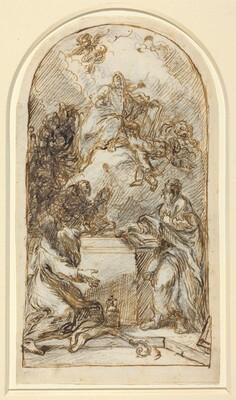 The Apotheosis of Saint Mark [recto and verso]