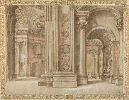 The Interior of Saint Peter's, Rome