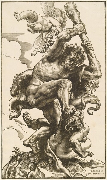 Hercules Fighting the Fury and the Discord