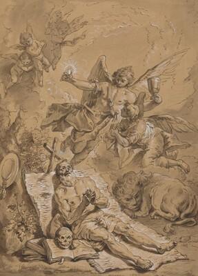 Last Communion of Saint Jerome