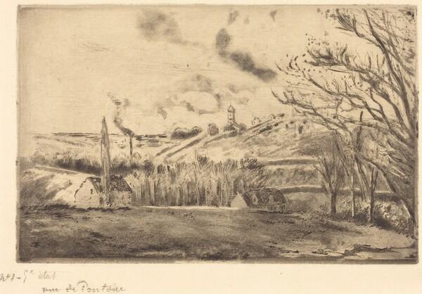 View of Pontoise (Vue de Pontoise)