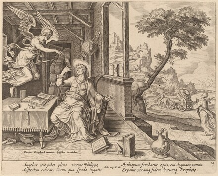 The Angel Orders Saint Philip to Accompany the Ethiopian Eunuch