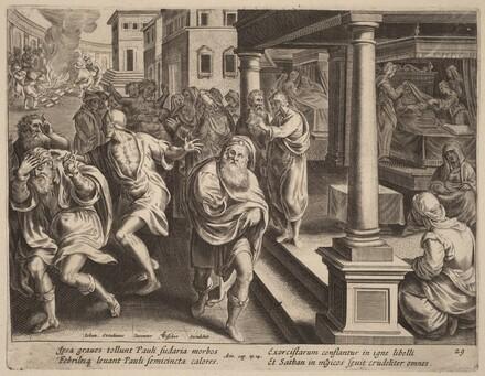 Saint Paul Driving Out Evil Spirits