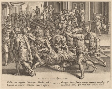 The Arrest of Saint Paul