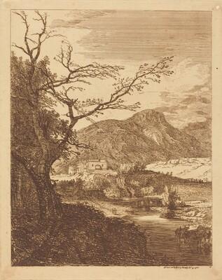 Capriccio with Edinburgh Castle and Arthur's Seat