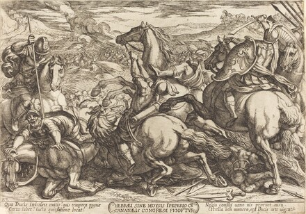 The Hebrews defeat the Canaans
