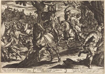 Jacob Kills Absalom, Son of King David